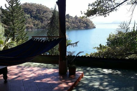 Piedra Paraiso, Exotic lake front villa #2 - San Marcos La Laguna