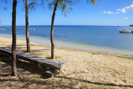 Beachfront villa with private pool - Riviere Noire