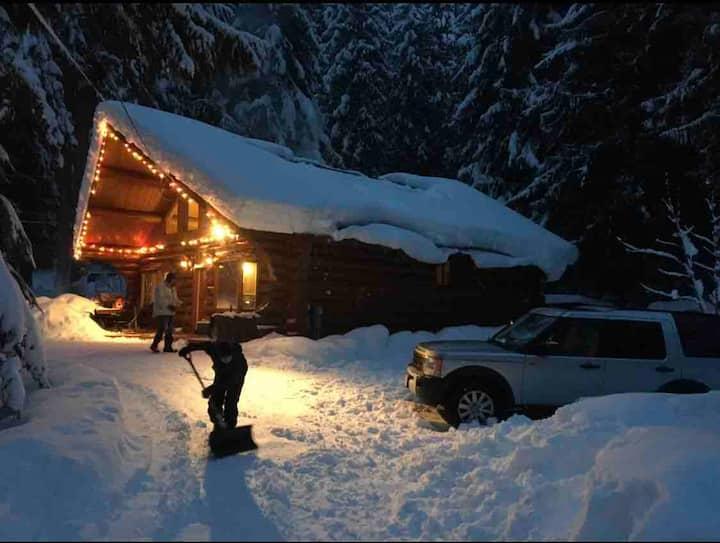 """Arnie's Cabina"" (Beautiful Quiet Log Cabin)"