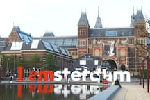 Amsterdam center only 30 min. by train