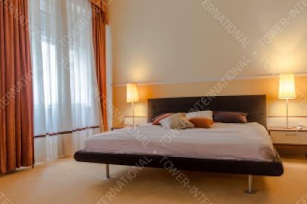 Sleeping room 1.