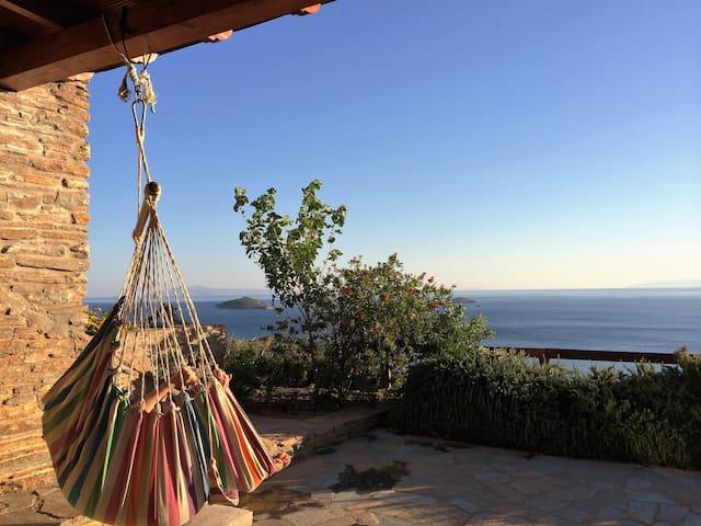 House Philoxenia, breathtaking sea view - Kato Agios Petros - Hus