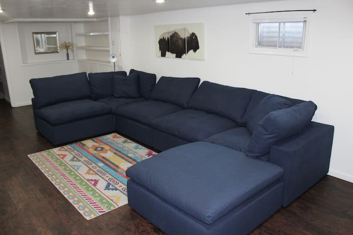 Spacious Basement Apartment in Central Location