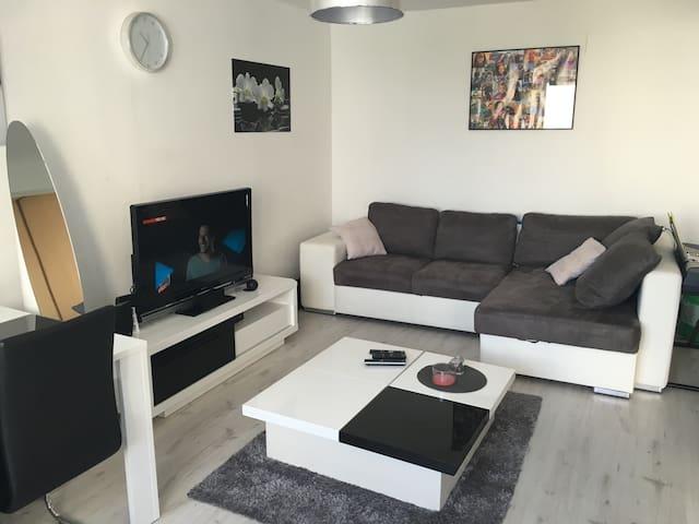 Appartement proche centre ville Reims tout confort - Reims - Apartamento