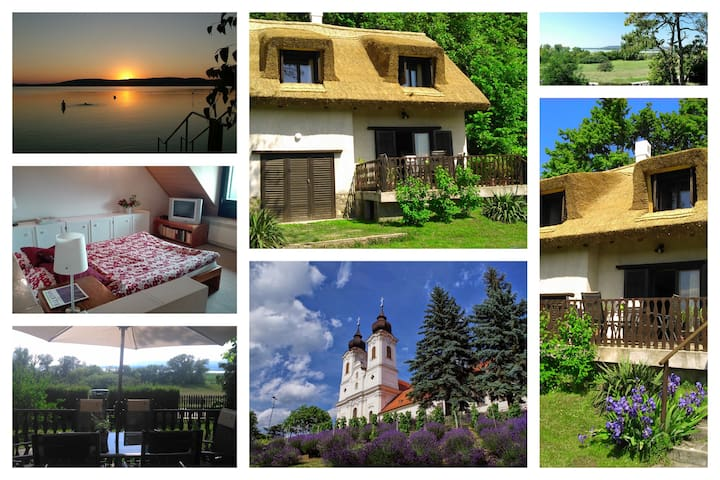 Peace & Beach - house in Tihany, Sajkod