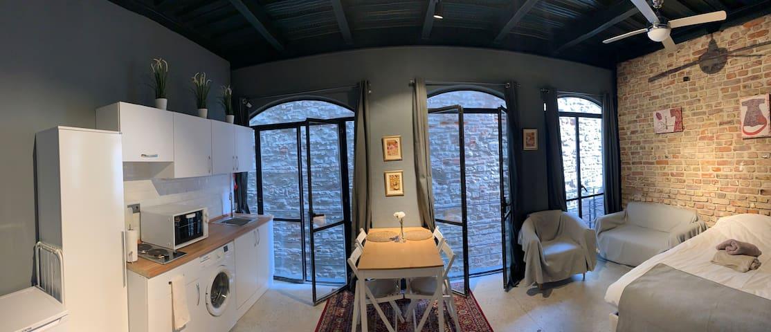 Galata loft apartment new renovated historical bld