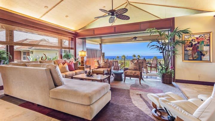 Ocean view, Condo, Luxurious, 2BD Hainoa Villa (2907B) at Four Seasons Resort