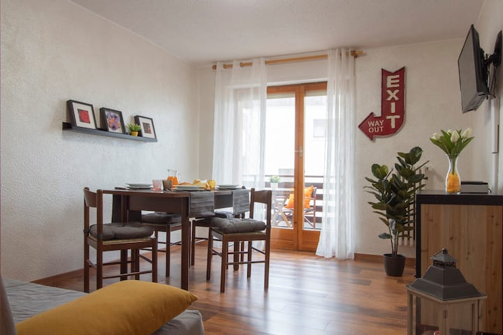 SauzeMonAmour - 60mq Apartment in town centre