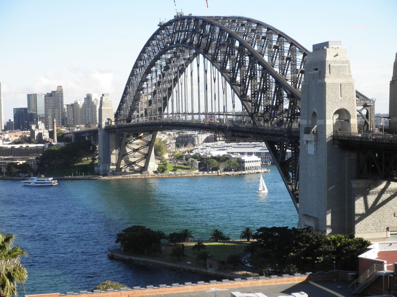Harbour bridge from front balcony