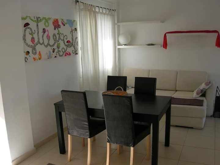 Modern apartment inIbiza- 100 mts to the beach