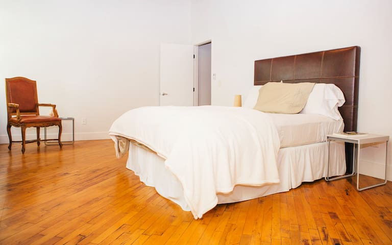 Comfortable Qn Bedroom on the Right: Another View