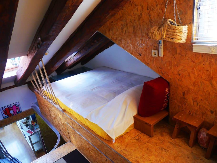 Ryokan bedroom 旅馆的卧室 cama 2