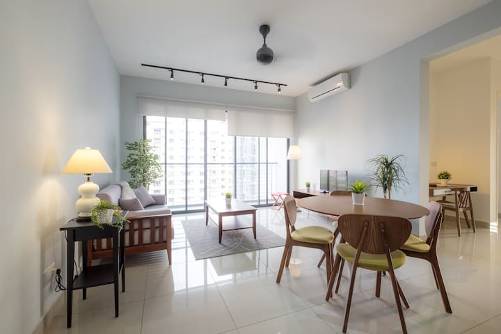 Cheerful Scandinavian Retreat - Butterworth - Condo
