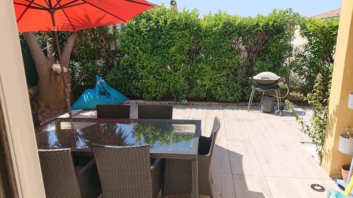 House close to beach for 8 persons wifi(FR,EN,DEU)