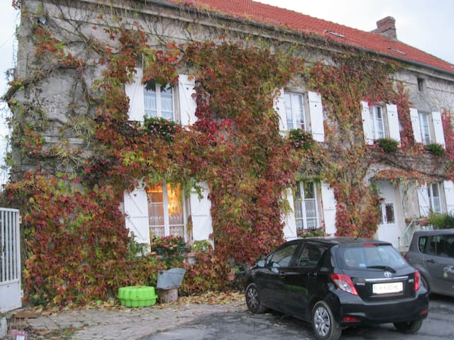 Maison d'hôtes en pleine campagne - Marigny-en-Orxois