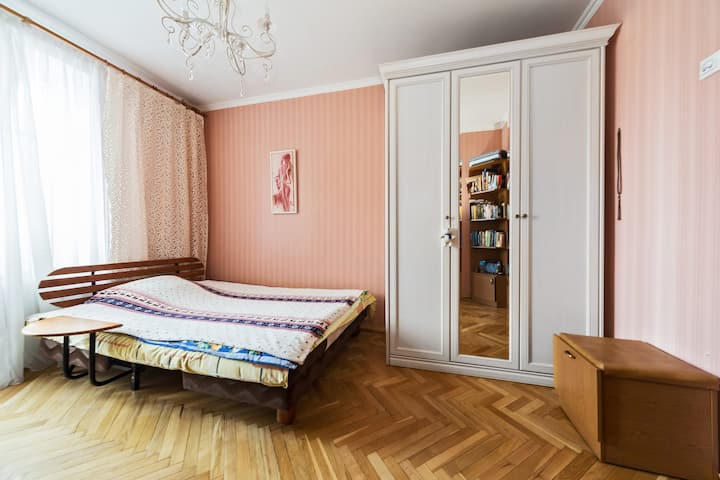 Cozy room near MSU and Luzhniki stadium (FIFA)