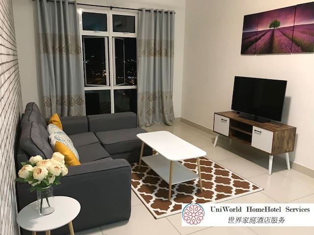 Cozy HomeHotel @ Sky Suites JB Central, 1-4 pax