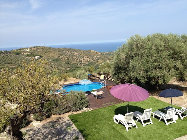 04 Villa with pool nearby Cefalù - Campofelice di Roccella - Villa