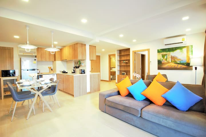 ♡Hot deal♡Top floor♡10min to the beach♡Wi-Fi