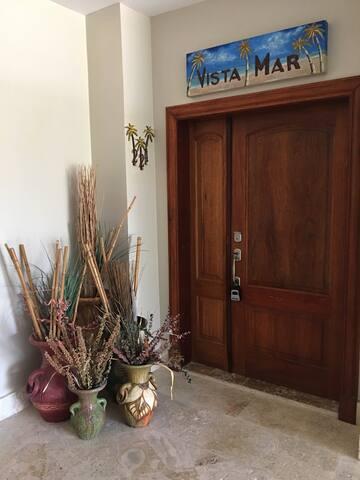 "Main Entrance to ""Vista Mar"""