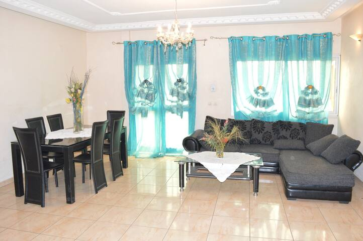 Residence Borel appartement haut standing 120m2 - Douala - Apartment