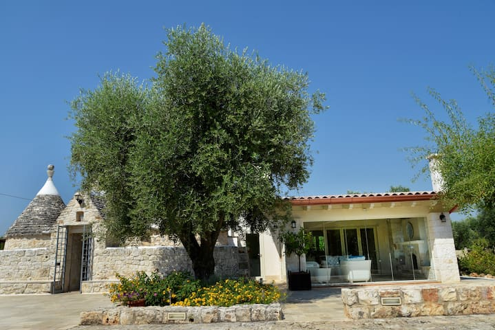 400 year old, fully restored Trulli House with sun terrce