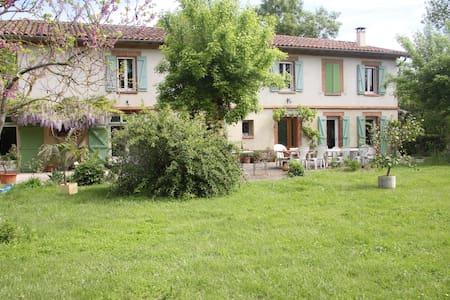 Dans maison parc 20mn sud Toulouse - Lherm