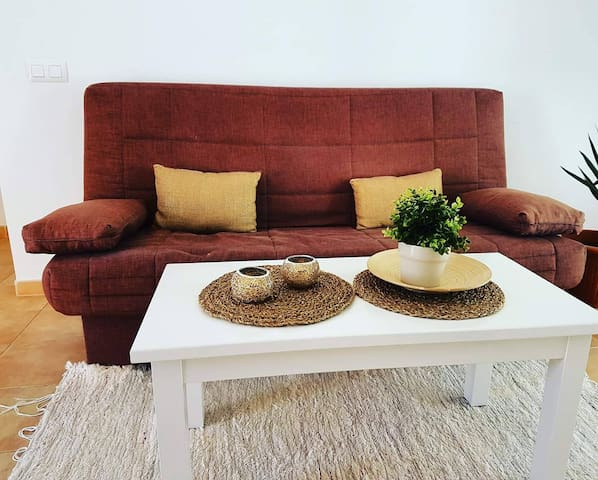 sofa bed which can be extended to double bed