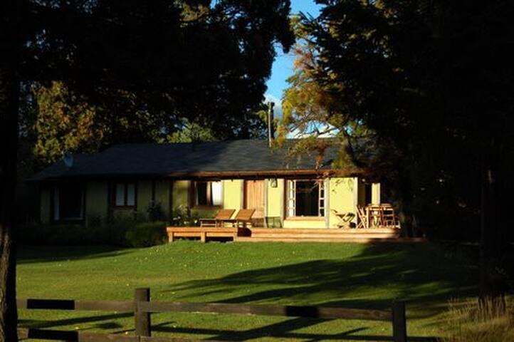 Casa en Arelauquen, Patagonia. - San Carlos de Bariloche - Hus