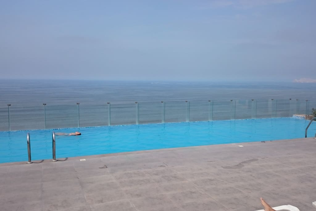 Relax alongside the swimming pool