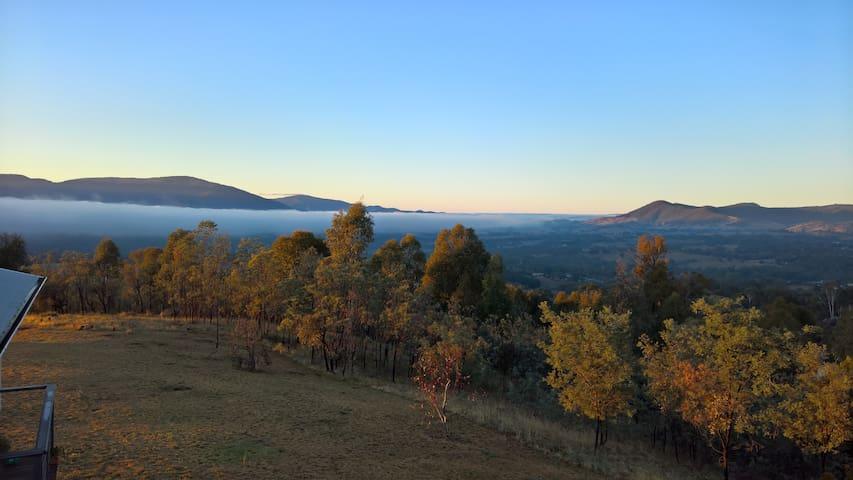 Yackandandah Mountain Views