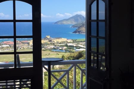 Ariel Heights ST KITTS 360o Views Private Pool.