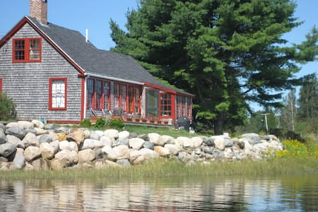 Waterfront Heron View Cottage on Machias Bay - Machiasport - Talo