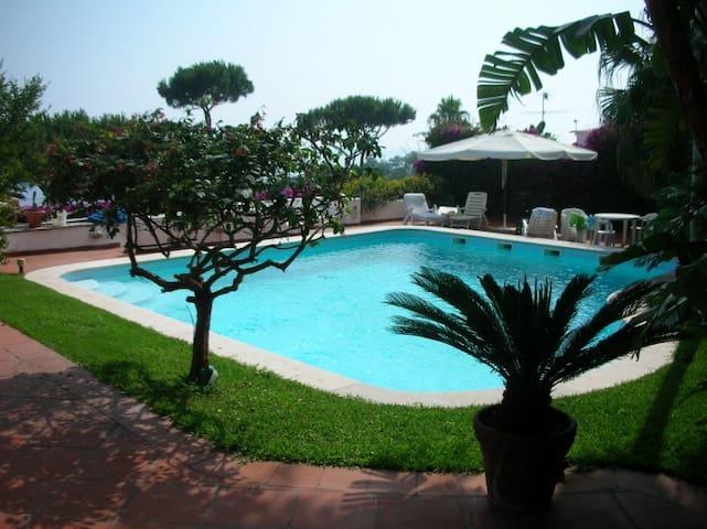 Lady Bouganvillea villa in Ischia - Casamicciola Terme - Talo