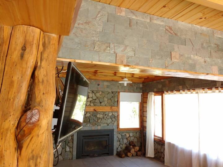 Lodge cabin villa Pehuenia Moquehue Upenen