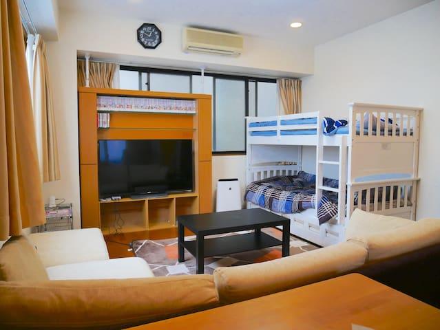 Family room in Saitama near station