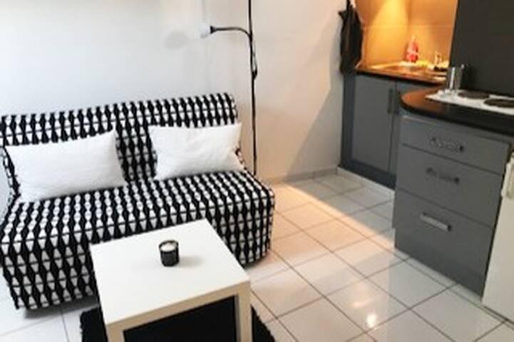 studio meubl au coeur de l 39 ecusson apartments for rent in montpellier occitanie france. Black Bedroom Furniture Sets. Home Design Ideas