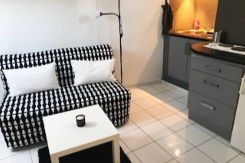 studio meubl au coeur de l 39 ecusson appartements louer montpellier occitanie france. Black Bedroom Furniture Sets. Home Design Ideas