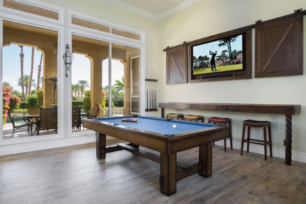 Game and TV Room