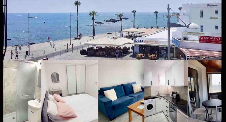 Beachside apartment: 1 min walk to beach