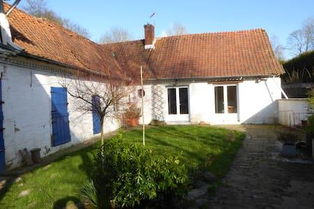 fermette ancienne campagne proche d' Arras (25km). - Gouy-en-Ternois - Casa