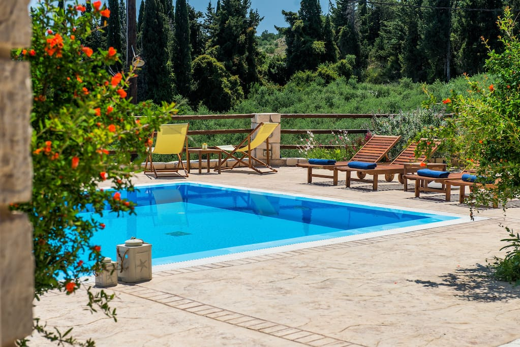 Villa Azzurra-Swimming pool area