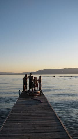 Lake, Fun, Sun...set