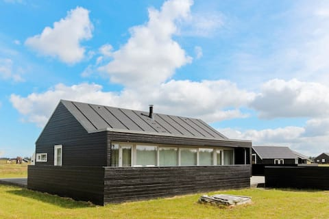 Peaceful Holiday Home in Brovst with Sauna