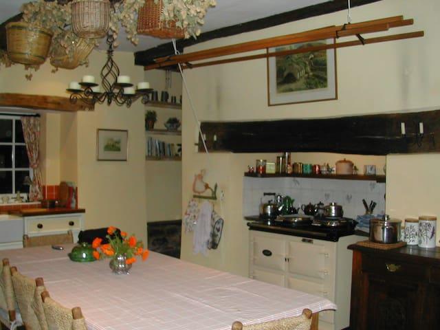 Farmhouse Large Twin B&B near Brecon - Brecon - Bed & Breakfast