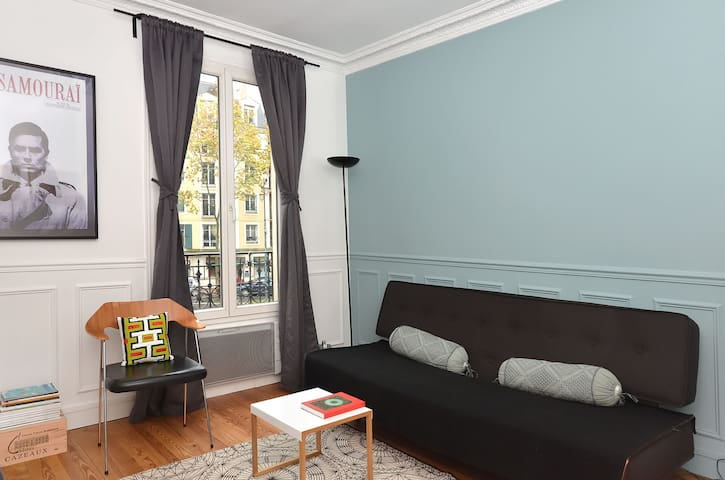 Charming and bright apartment in safe suburb - Saint-Maurice - Daire
