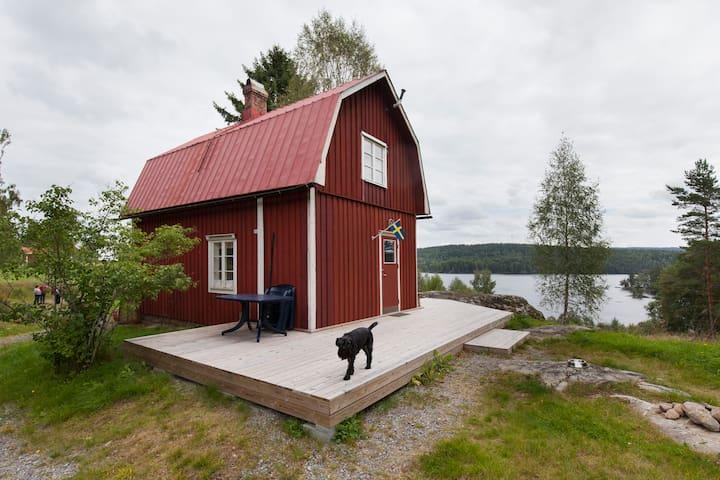 Authentic cosy swedish cottage