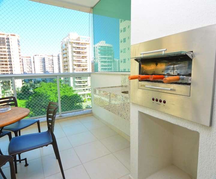 3 bedrooms, private barbecue