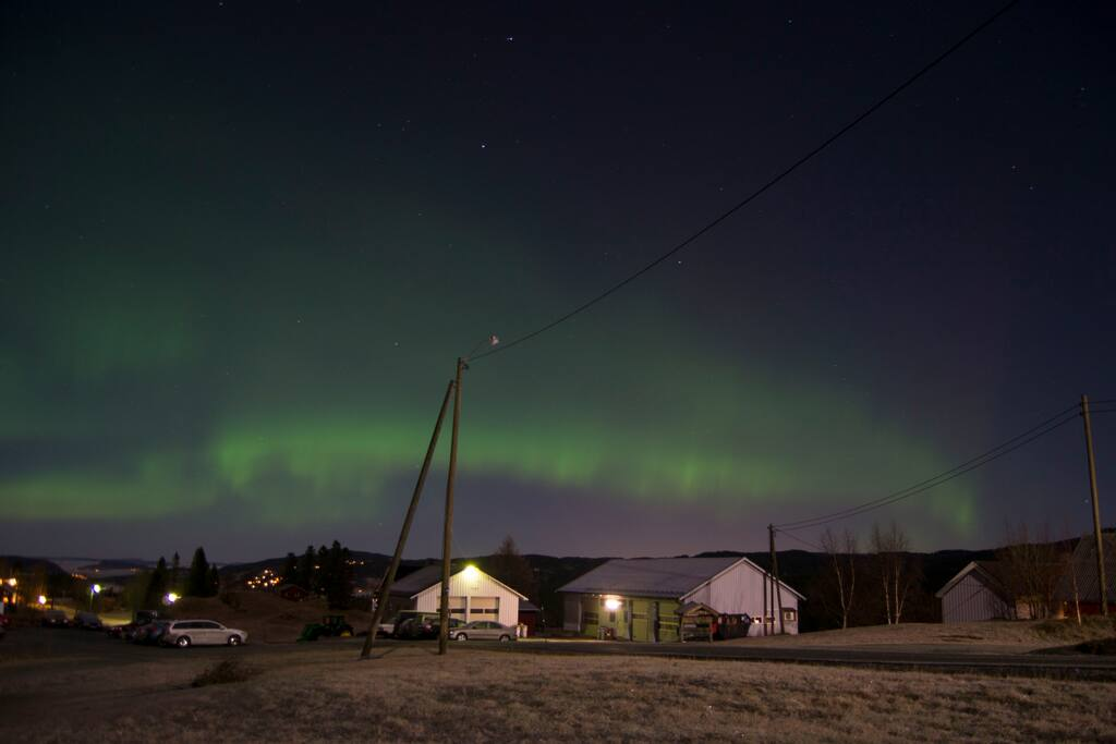 Northen light piqtuers from our house.