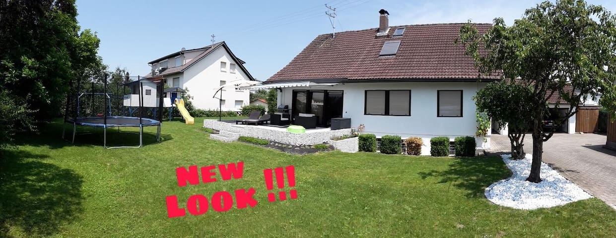 Calm and delightful apartment near Bodensee